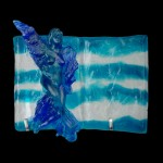 Glass Art - Angel Statue for Sale